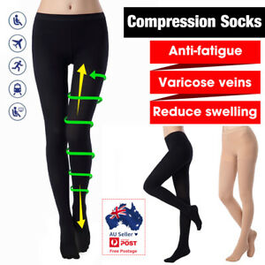 Medical Compression Stockings Pantyhose 23-32 mmHg Support Varicose Veins Socks