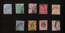 Great Britain Stamps Mixed Lot Sc# 89, 114, 115, 119, 127, 131, 134, 138, 166