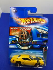Hot Wheels 2005  Faster than Ever 1971 Plymouth GTX  Yellow