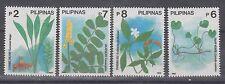 Philippine Stamps 1992 Medicinal Plants complete set MNH