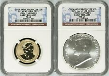 2015 P REV. PROOF Presidential $1 John F. Kennedy COIN & CHRONICLES SET NGC PF69