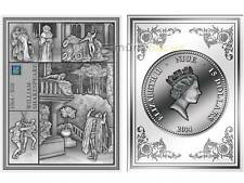 15 $ Dollar Shakespeare Romeo und Julia Niue Island 2014 3 oz Silber PP Nano