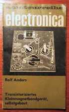 PHONO - Transistorisiertes Kleinmagnetbandgerät - selbst gebaut (1973)