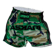 Green Camouflage Muay Thai Shorts