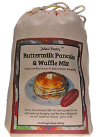 Julia's Pantry Pancake and Waffle Mix, Buttermilk, 10 Ounce Cloth Bag
