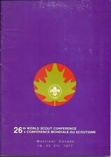 26th World Scout Conference Welcome Booklet