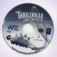 Thrillville: Off the Rails (Nintendo Wii, 2007) - DISC ONLY