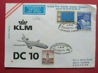 FIRST FLIGHT KLM WIEN BANGKOK (V3030)