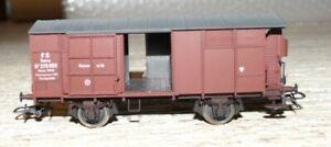 G21  Rivarossi ged. Güterwagen Bhs 270 059 FS