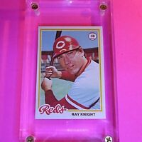 1978 Topps Ray Knight Rookie #674 Reds High Grade NmMt (sharp & centered)