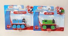 NEW Fisher Price Thomas & Friends Push Along Track Master Percy & Thomas Trains