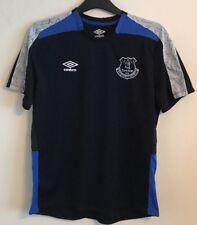 Everton training shirt size L black colour Umbro