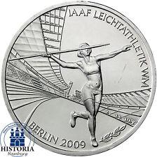 Deutschland 10 Euro Silber 2009 bfr Leichtathletik-WM Mzz unsere Wahl