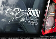Staffordshire Bull Terrier Dog Car Stickers