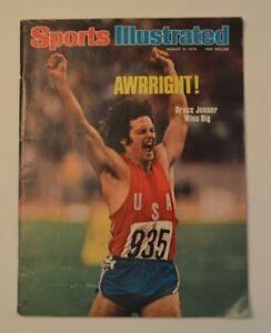 Bruce Caitlyn Jenner on vintage Sports Illustrated August 1976 Savalas Montalban