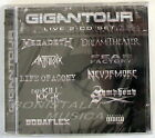 VARIOUS ARTISTS - GIGANTOUR LIVE - 2 CD Sigillato