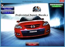 FACTORY SERVICE MANUAL FSM REPAIR MANUAL FOR MAZDA 3 2003 - 2006