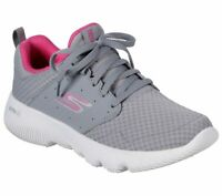 Skechers Gray Pink shoes Women's Sport Go Run Athletic Mesh Comfort Casual 15162