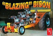 AMT 1:25 Blazin Bison Tractor Pull Model Car Kit Amt1006 NEW