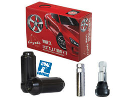 Wheel Lug Nut-Install Kit Truck Spline 14mm 2.00 8 Lug Black 631873BLK