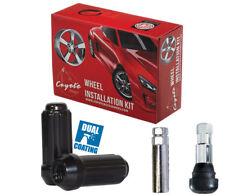 Wheel Lug Nut-Install Kit Truck Spline 9/16 8 Lug Black