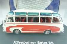 Schuco 02821 Kässbohrer Setra S6 Bus rot weiß getönte Scheiben + Box 1/43 105808