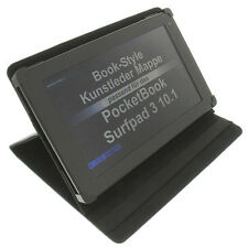 Cover f. pocket Book Surfpad 3 10.1 Style protection sleeve table holder black