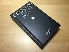 Book Libro RACCONTI - EDGAR ALLAN POE - Collezione MONTBLANC - Spanish Spagnolo