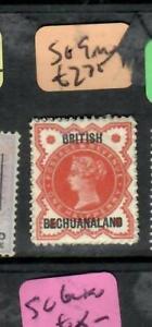 BECHUANALAND (P1605B)  QV  1/2D SG 9 MOG