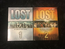 Lost TV Series - Dvd Sets - Season 1 & Season 2 - EUC