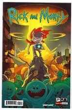 Rick and Morty #1 (Oni Press 2015) Mr Meeseeks BAM Variant Print Run 1250 NM