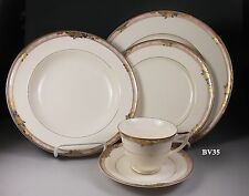 MIKASA PROSE LAC79  FIVE PIECE PLACE SETTINGS - MINT!