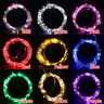 LED USB Outdoor Led Copper Wire String Fairy Christmas Wedding Lights 5m 10m 5V