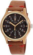 Timex Mk1 Steel Boxed Watch Analog GLD BRW TW2R96700