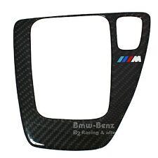 BMW 2005-11 E90 E91 E92 E93 RHD Carbon Fiber Automatic Shifter Surround Trim
