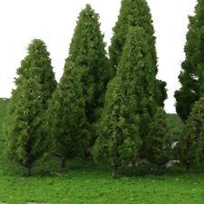 20 Gemischte Modell Bäume Zug Eisenbahn Architektur Wald Landschaft Layout