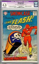 Showcase Presents #13 The Flash CGC  4.5  VG+  restored, a very small amt ....