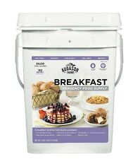 Emergency Food Breakfast Supply Storage Containers Preparedness Augason Farms
