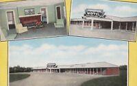 (S)  Sylvania, GA - Dreamland Motel - Guest Room - Signage - Exterior  6/21/1952