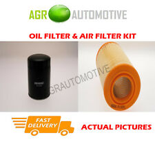 DIESEL SERVICE KIT OIL AIR FILTER FOR FIAT DUCATO 10 2.8 128 BHP 2001-01