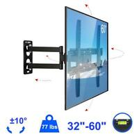 """Articulating Full Motion TV Wall Mount Tilt Swivel For 32 36 37 42 46 50 55 60"""""""