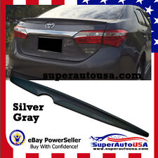 PAINTED SILVER TOYOTA ALTIS Corolla 2014 2015 2016 2017 Trunk Spoiler Wing