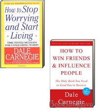 How to Win Friends and Influence People, How To Stop Worrying (pb) Dale Carnegie