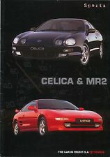 Toyota Range Sports Celica & MR2 1998-99 original UK Sales Brochure