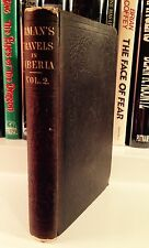 "Adolph Erman ""TRAVELS IN SIBERIA"" (1850) Volume II FIRST EDITION Quite RARE"