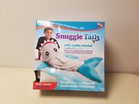 Allstar Innovations Snuggie Tails Shark Blanket for Kids, As seen on TV