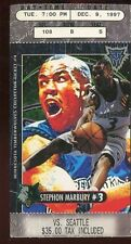 Ticket Basketball Minnesota 1997 - 98 12-6 Los Angeles Lakers Kevin Garnett