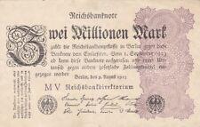 ★ Ro. 103c - 2 Millionen Mark - Deutsches Reich - 1923 - FZ: MV ★