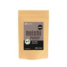12,95€/100g - Wohltuer Bio Reishi Pulver Vitalpilz Mineralstoffreiche 200g