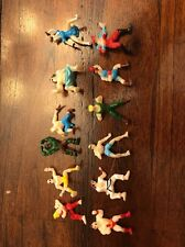 Street Fighter World Warrior Miniature Rare Gumball Wrestler Figure Lot - 1.25""